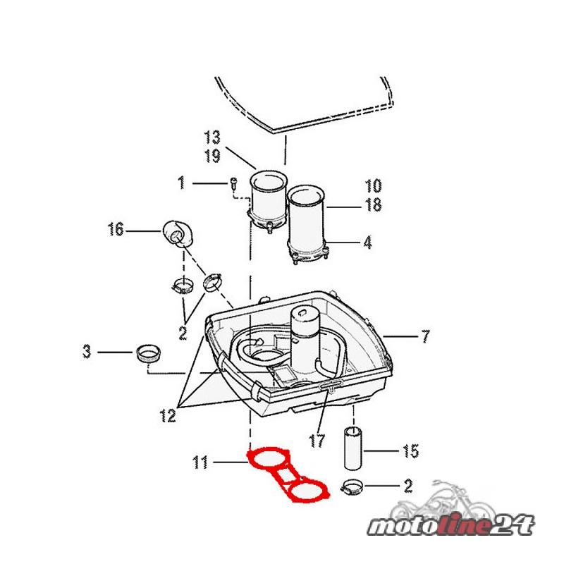 Throttle Body Gasket Seal Harley Davidson All Vrsc