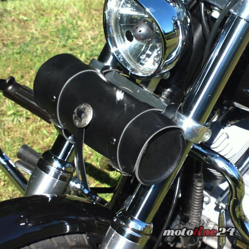 Werkzeugrolle Toolbag Werkzeugtasche Leder Harley | Chopper | Bobber