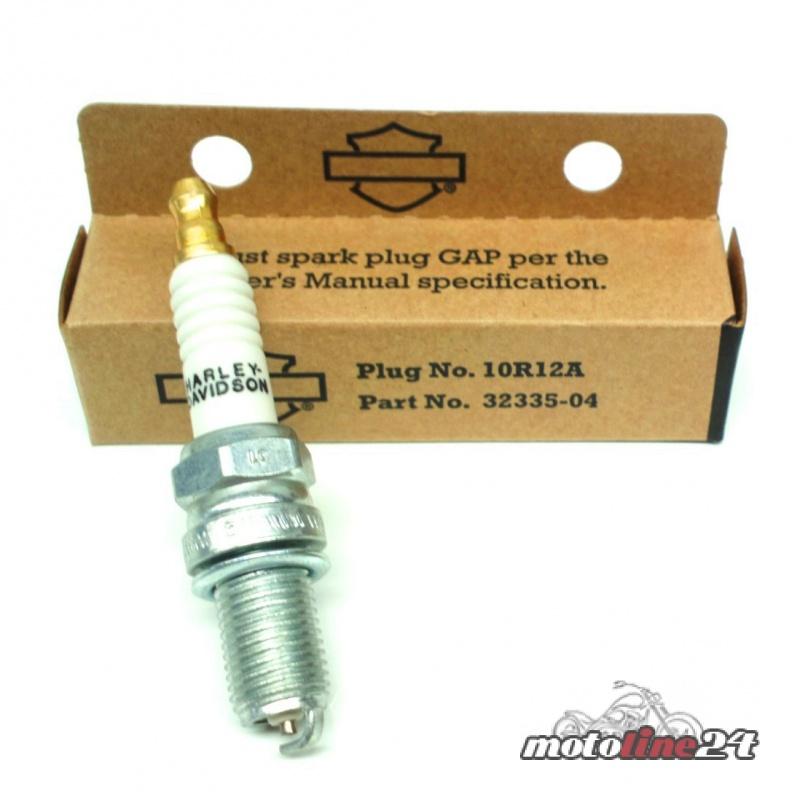 Spark Plug 10R12A orig  Harley-Davidson   V-Rod 02 up   Buell XB models    32335-04