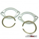 Exhaust Flange Mounting Kit chrome | all Harley-Davidson...