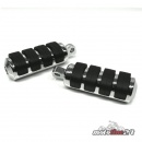Footpegs Soft-Ride large chrome | for Harley-Davidson...