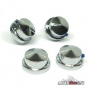 Küryakyn chrome Cylinder Head Bolt Cover Set | Harley-Davidson Modelle from 86 | 4 pieces | K8106