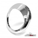 Küryakyn chrome Speedometer Bezel with Visor|...