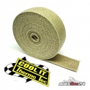 Thermo Tec exhaust insulating wrap brown 50 Foot